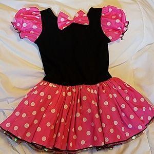 Mini mouse tutu dress